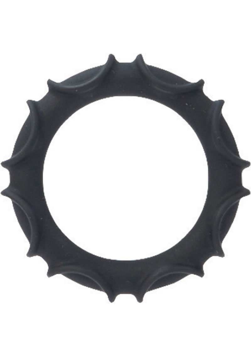 Detailed image of Adonis Silicone Rings Atlas Black