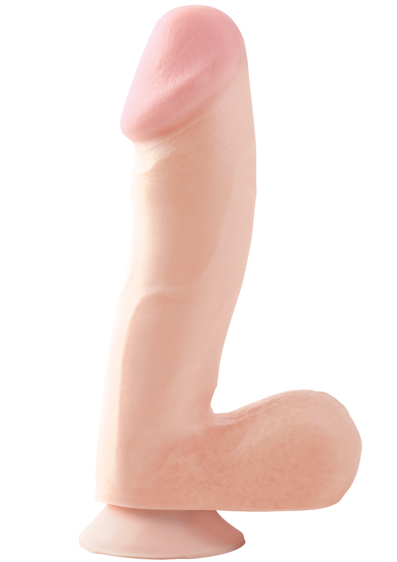 Detailed image of Basix 6.5 Inch  Dong with Suction Cup