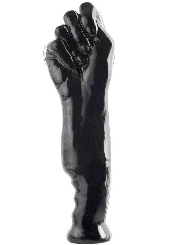 Rubber fist dildo