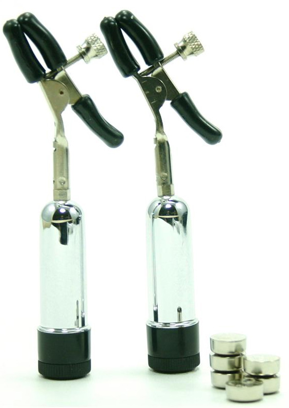 Detailed image of Adjustable Tension Vibrating Nipple Clamps