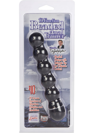 back - 10 Function Beaded Anal Trainer