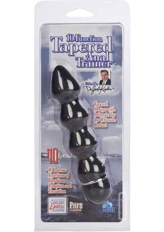 back - 10 Function Tapered Anal Trainer