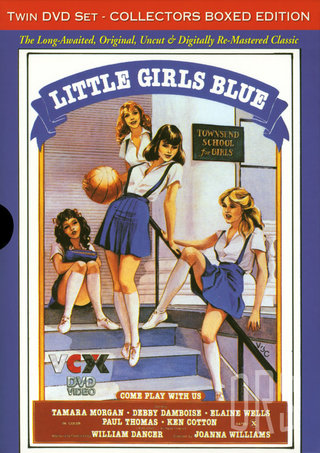 Large Photo of 2 Pack Little Girls Blue