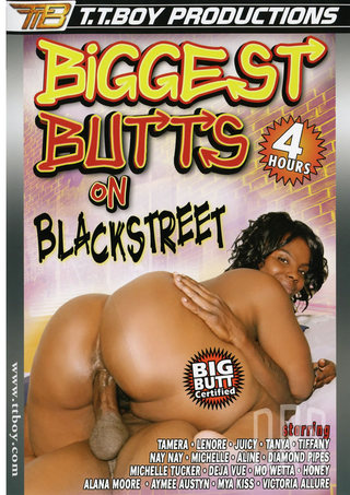 Large Photo of Biggest Butts On Black Street