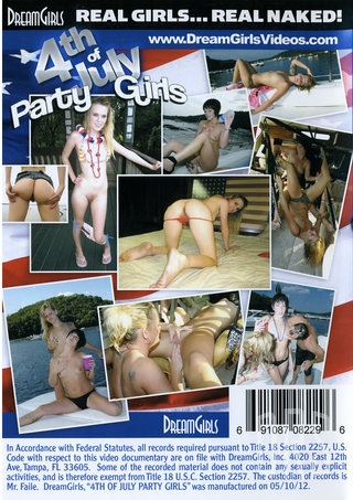 back - 4th Of July Party Girls