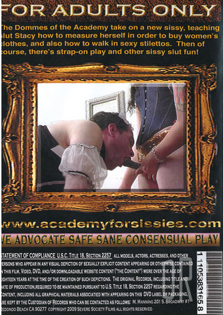 back - Academy For Sissies 2