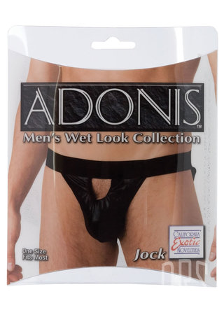 Large Photo of Adonis Wet Look Jock