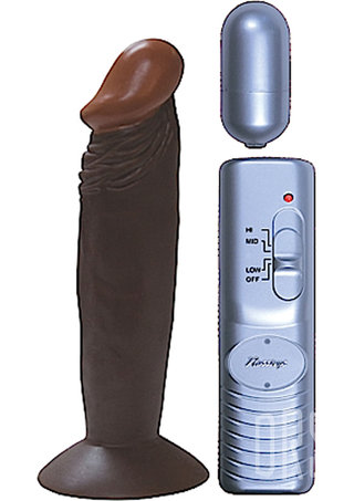 Large Photo of Afro American Whopper 6 Inch Vibrating Penis