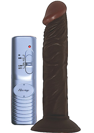 Large Photo of Afro American Whopper 8 Inch Vibrating Dildo
