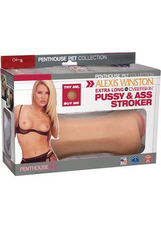 back - Alexis Winston Pussy & Ass Stroker