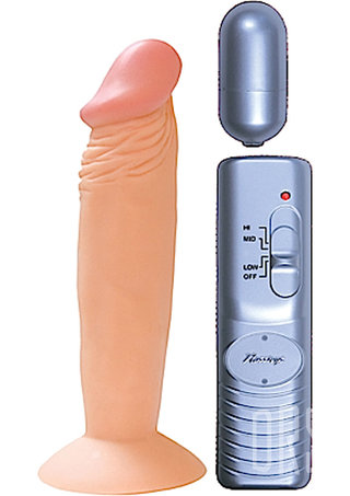 back - All American Whopper 6 Inch Vibrating Penis