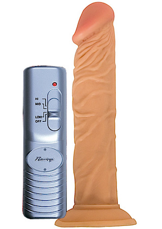Large Photo of All American Whopper 7 Inch Vibrating Dildo