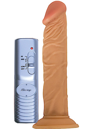 Large Photo of All American Whopper 8 Inch Vibrating Dildo