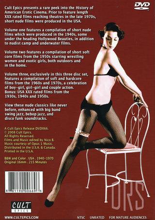 back - American Nudes Vols 1-3  3 Pack