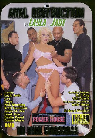 Large Photo of Anal Destruction Layla Jad