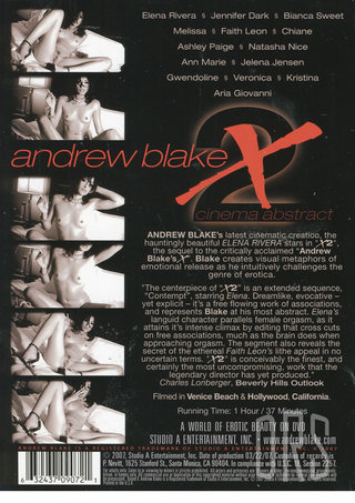 back - Andrew Blake X 2   cinema Abstract
