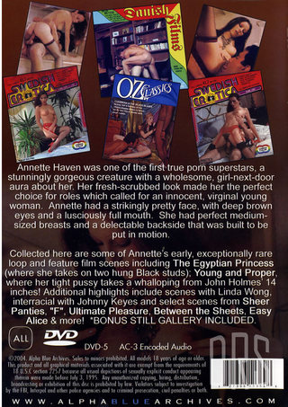 back - Annette Haven Collection