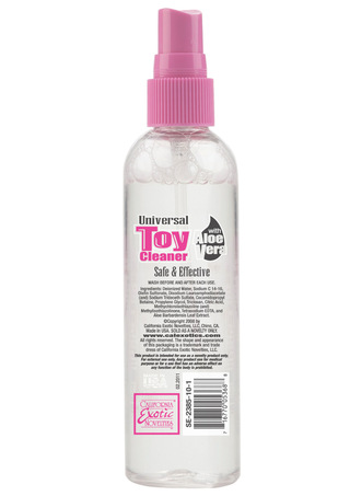 Back of Bottle - Anti Bacterial Toy Cleaner with Aloe