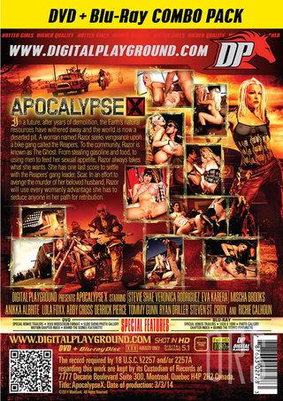 back - Apocalypse X Blu-Ray