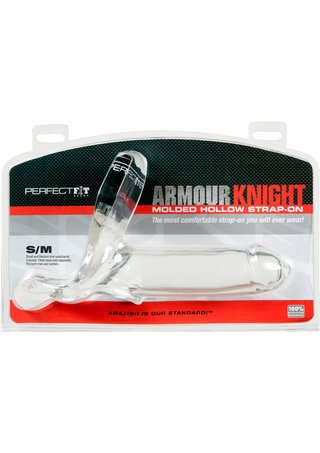 back - Armour Knight Molded Hollow Strap-On