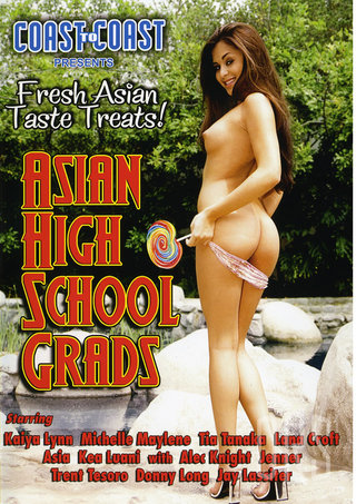 Large Photo of Asian High School Grads