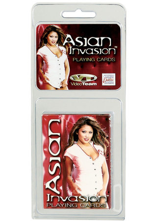 back - Asian Invasion Playing Cards