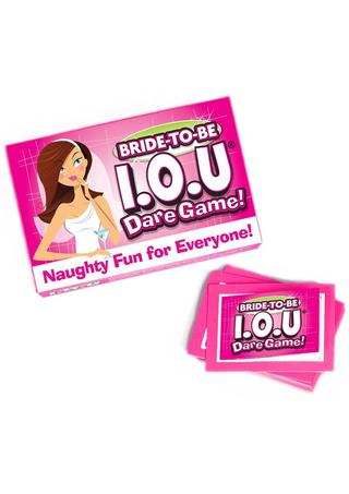 Large Photo of Bachelorette IOU Game
