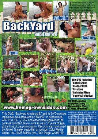 back - Backyard Amateurs 8