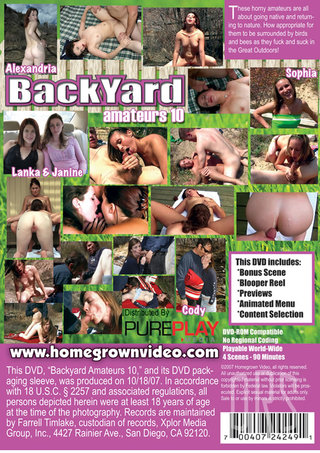 back - Backyard Amateurs 10