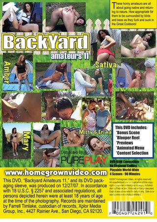 back - Backyard Amateurs 11