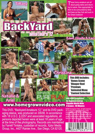 back - Backyard Amateurs 12