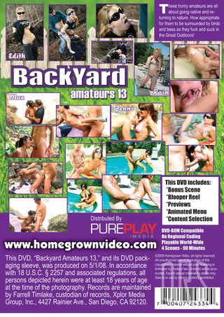 back - Backyard Amateurs 13