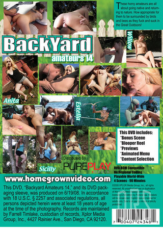 back - Backyard Amateurs 14