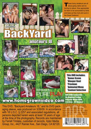 back - Backyard Amateurs 18