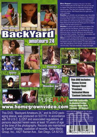 back - Backyard Amateur 24