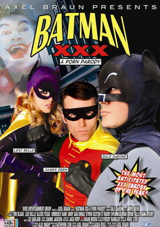 Large Photo of Batman XXX Porn Parody