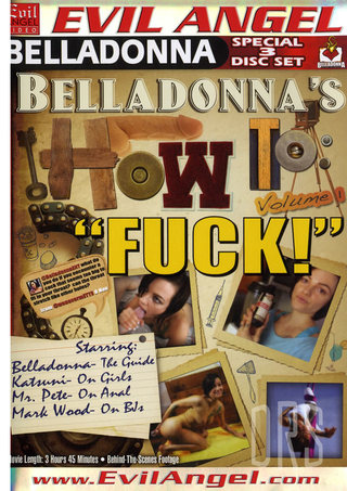 Large Photo of Belladonna's How To Fuck!