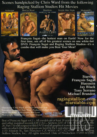 back - Best Of Francois Sagat 1