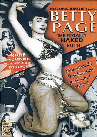 Large Photo of Betty Page The Naked Truth