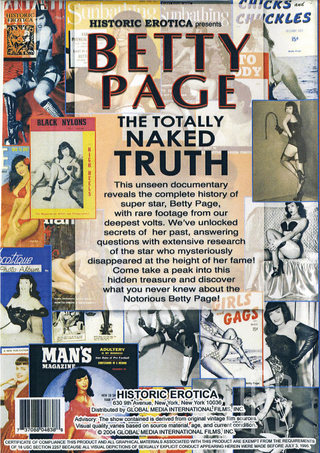 back - Betty Page The Naked Truth
