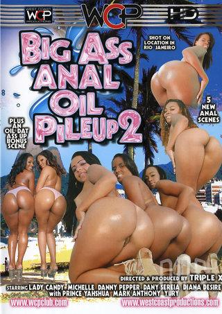 Large Photo of Big Ass Anal Oil Pileup 2