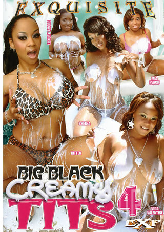 Large Photo of Big Black Creamy Tits 4