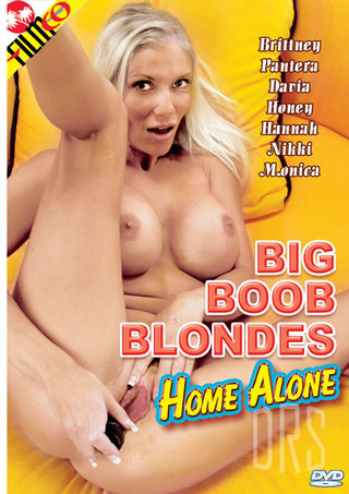 Large Photo of Big Boob Blondes Home Alone