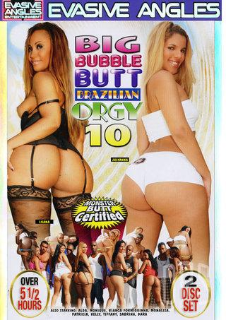 Large Photo of Big Bubble Butt Brazilian Orgy 10