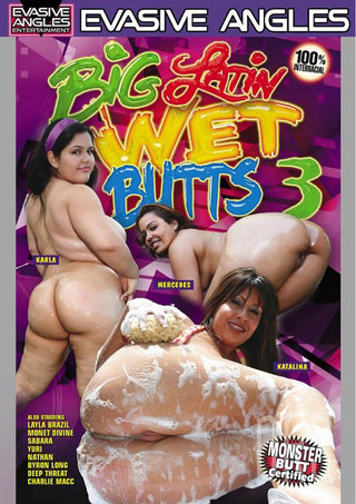 Large Photo of Big Latin Wet Butts 3