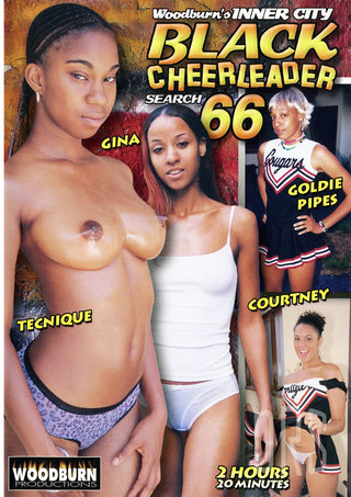 Large Photo of Black Cheerleader 66