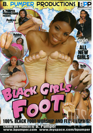Large Photo of Black Girls Foot