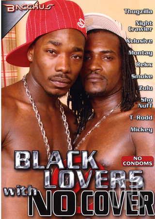 Large Photo of Black Lovers With No Covers