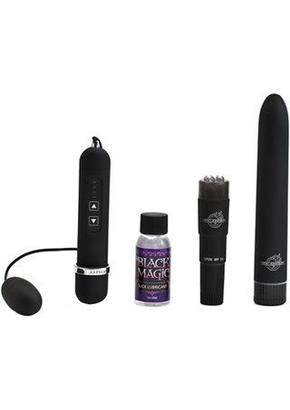 Large Photo of Black Magic Vibrator Kit