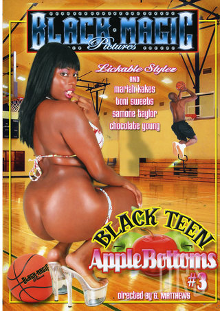 Large Photo of Black Teen Apple Bottoms 3